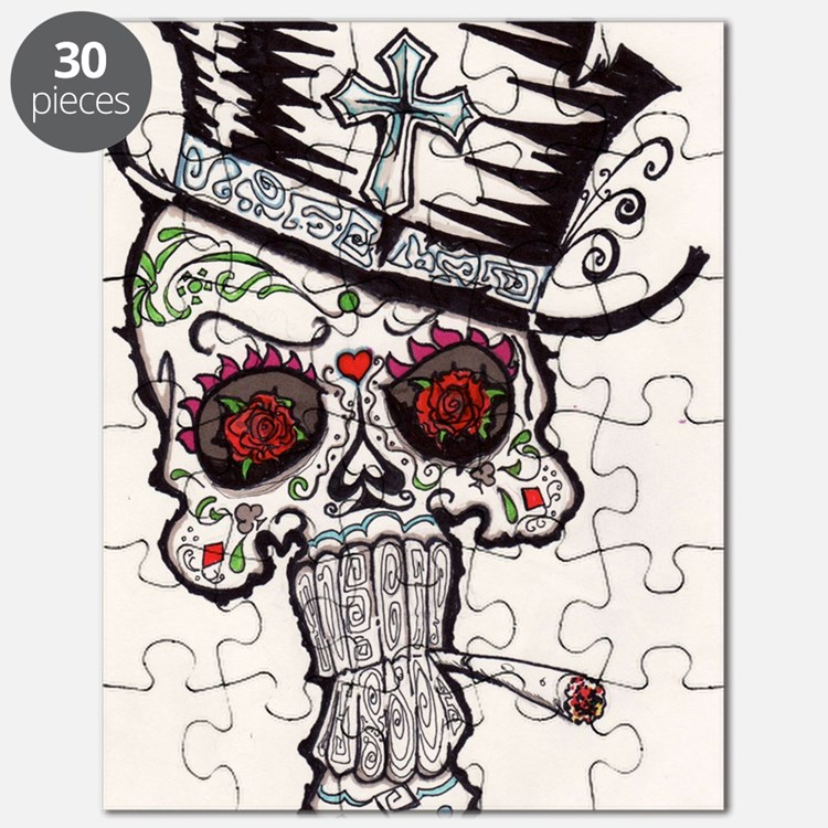 voodoo skull Puzzle