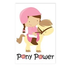 Cute Pony Power Postcards (Package of 8)