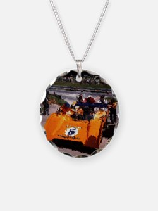 Orange 5:  Can-Am MacLaren Necklace