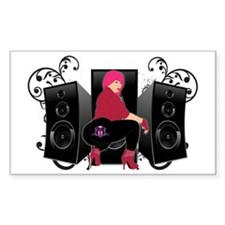 Speaker luv Decal