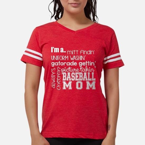 BASEBALL MOM - WHITE T-Shirt