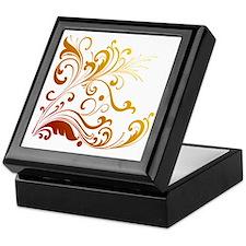 new swirl Keepsake Box