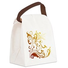new swirl Canvas Lunch Bag