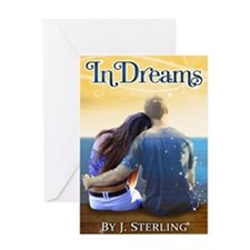 In Dreams Book Cover Greeting Card