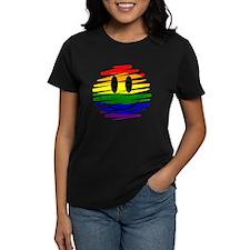 Gay Pride Happy Face Tee