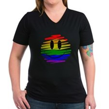 Gay Pride Happy Face Shirt