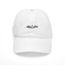 uss canopus white letters Baseball Cap