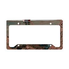 Rover Curiosity License Plate Holder