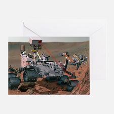 Rover Curiosity Greeting Card