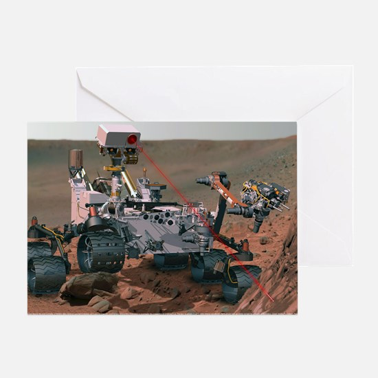 Rover Curiosity Greeting Card