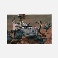 Rover Curiosity Rectangle Magnet