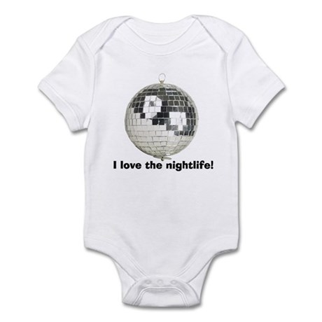 Disco Ball Infant Bodysuit