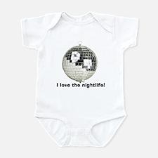 Disco Ball Infant Bodysuit