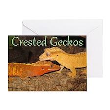 Crested Geckos Greeting Card