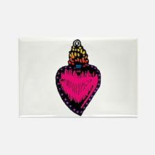 Heart Milagro Rectangle Magnet