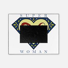 Superwoman N Blue Picture Frame
