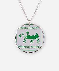 Mars Rover Parking Necklace