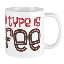 blood type Small Mugs