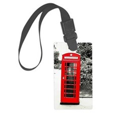BeFunky_Watercolor_1 PHONE BOOTH Luggage Tag