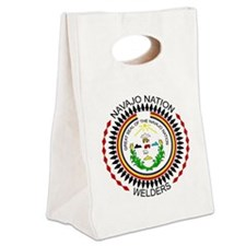 Navajo Nation Welders Canvas Lunch Tote