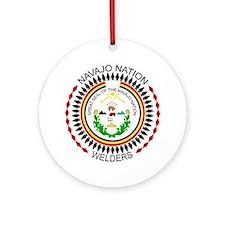 Navajo Nation Welders Round Ornament