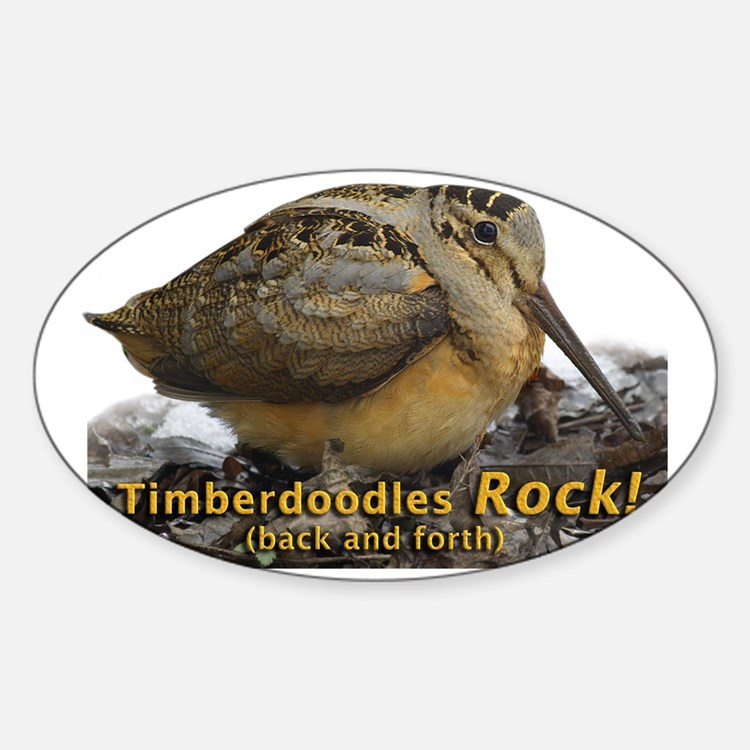 Timberdoodle bumper stickers car stickers decals more for Timberdoodle