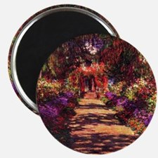 Path In Monets Garden Magnet