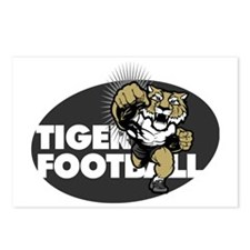 Tiger Football 4 Postcards (Package of 8)