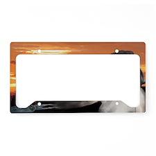 Rising Sun License Plate Holder