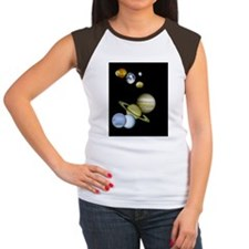 walllclock_large Women's Cap Sleeve T-Shirt