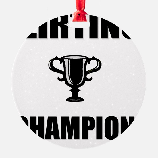 flirting champ Ornament
