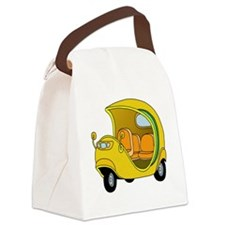Coco Taxi Canvas Lunch Bag
