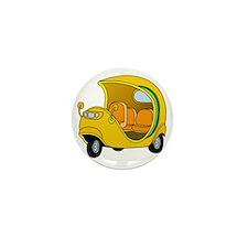 Coco Taxi Mini Button