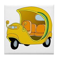 Coco Taxi Tile Coaster