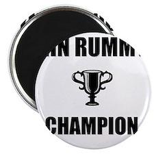 gin rummy champ Magnet