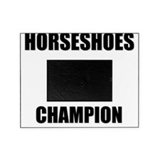 horseshoes champ Picture Frame