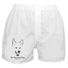 Be the Lead Dog Paws4Critters Dog Boxer Shorts