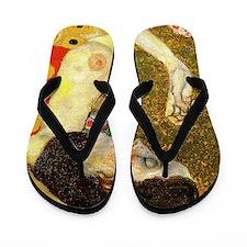 Gustav Klimt Hope Flip Flops