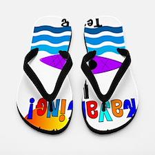 Teacher kayaking Flip Flops
