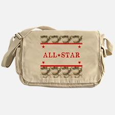 Baseball All-Star Messenger Bag