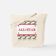 Baseball All-Star Tote Bag