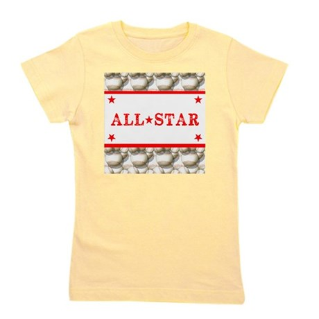 Baseball All-Star Girl's Tee