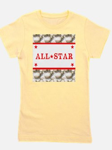 Baseball All-Star Girl's Tee
