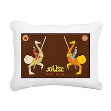 Joust Rectangular Canvas Pillow