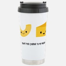 You're the cheese to my macaron Travel Mug