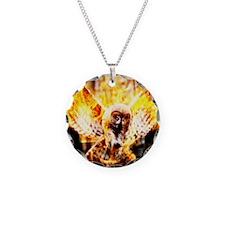 Phoenix Owl Necklace