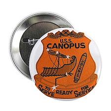 "uss canopus patch transparent 2.25"" Button"