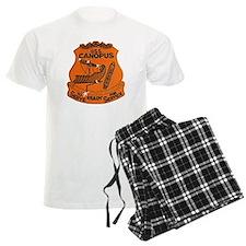 uss canopus patch transparent Pajamas