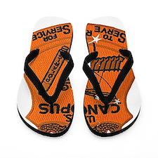 uss canopus patch transparent Flip Flops