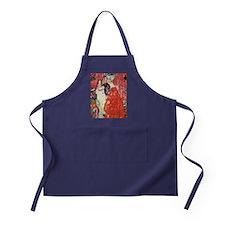 Gustav Klimt Girlfriends Apron (dark)